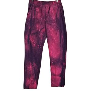 OOAK Custom Dyed Vintage 80s Pink Purple Pants